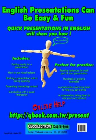 Get the book Quick Presentations in English